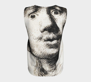 Rembrandt Dragon Selfie Tank Top