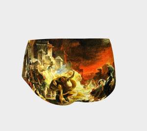 Pompeii Dragon Hunk Of Burnin' Lava Short Shorts
