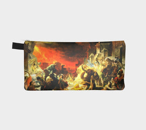 Pompeii Dragon Burnin' Thru Cash Pencil Case