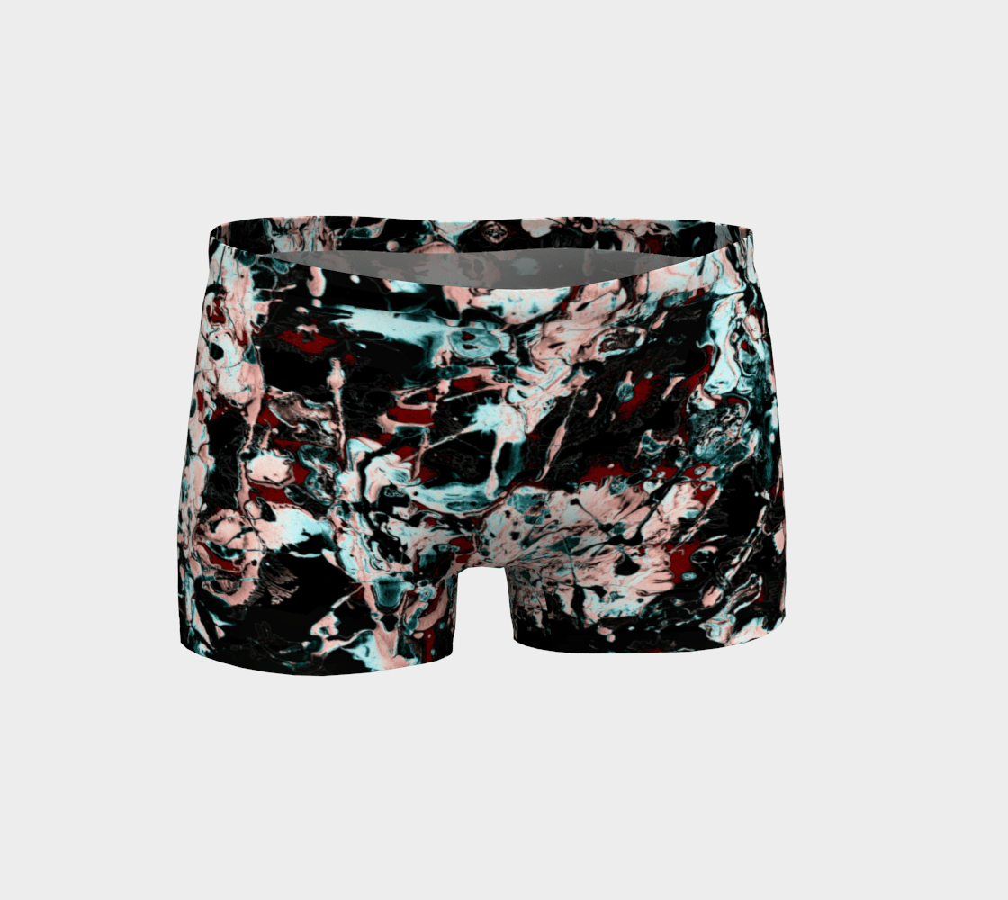 Jackson Dragon Already Paint Spattered Painting Shorts