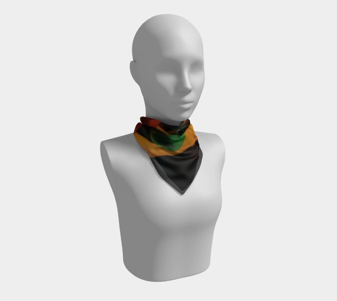 Athleisure Dragon Play Ball Scarf