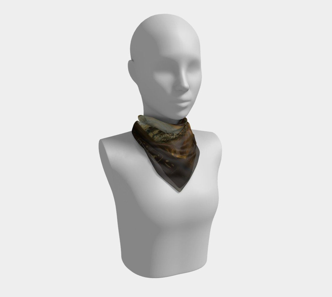Cleopatra Dragon Is That An Asp In Your Pocket Mark Scarf