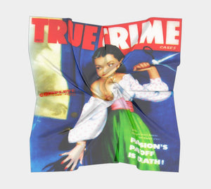 True Crime Dragon Careful With Those Scissors Sister Skirt Scarf