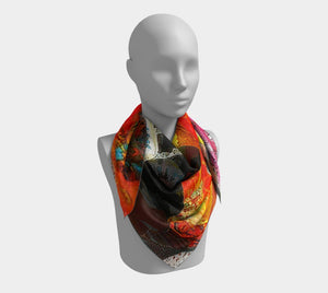 King Leon Dragon Bakst In The Glow Skirt Scarf