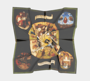 Seven Sins Dragon Try Them All Kids Skirt Scarf
