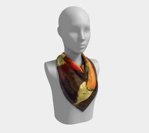 #Modigliani Dragon Chaim And Juan BFFs Scarf