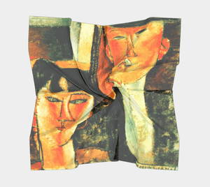 #Modigliani Dragon Here Comes The Bride Scarf