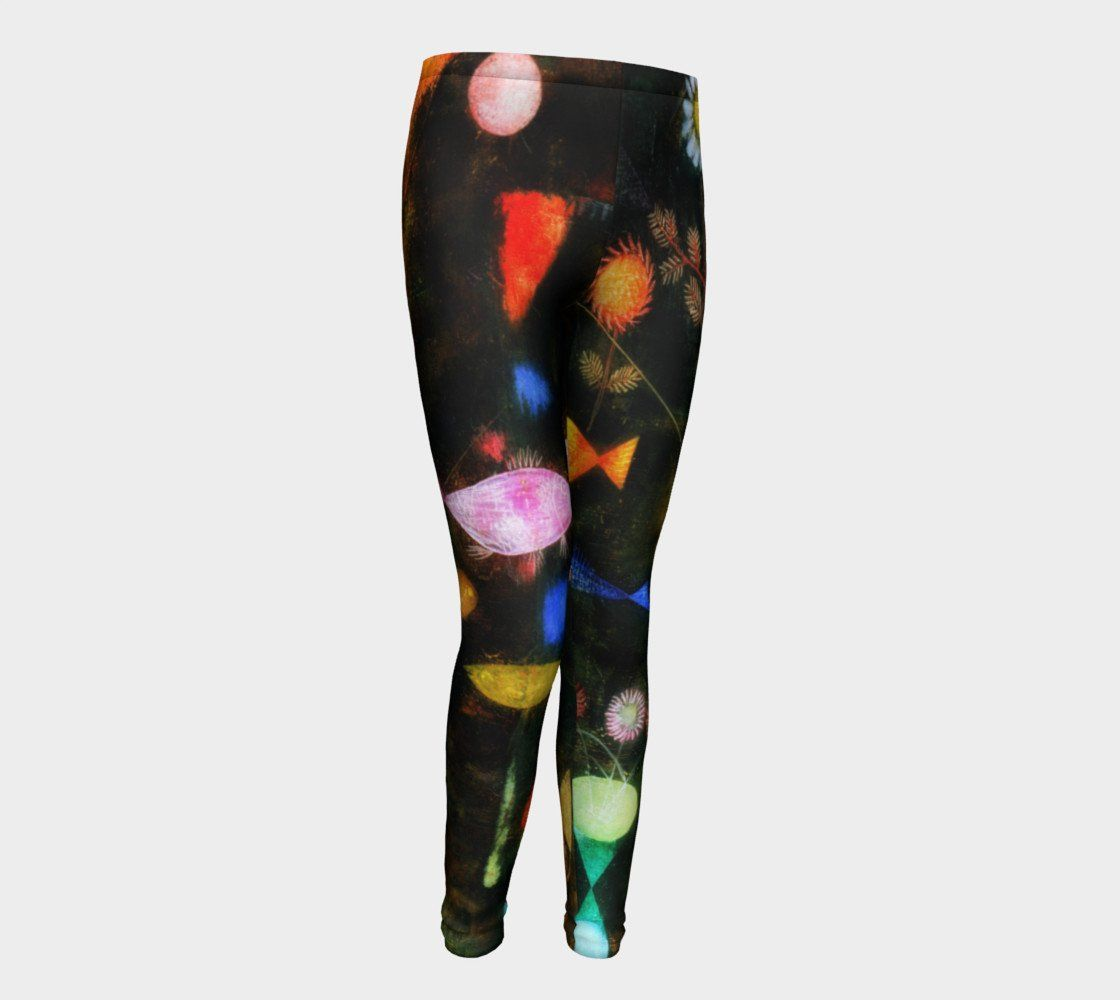 Magic Fish by Paul Klee #BeArtCurious Youth Leggings
