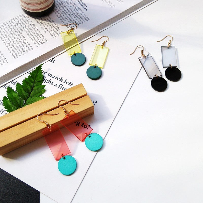 Round Peg Square Hole Earrings  Earrings    - Super Cool Supply Store