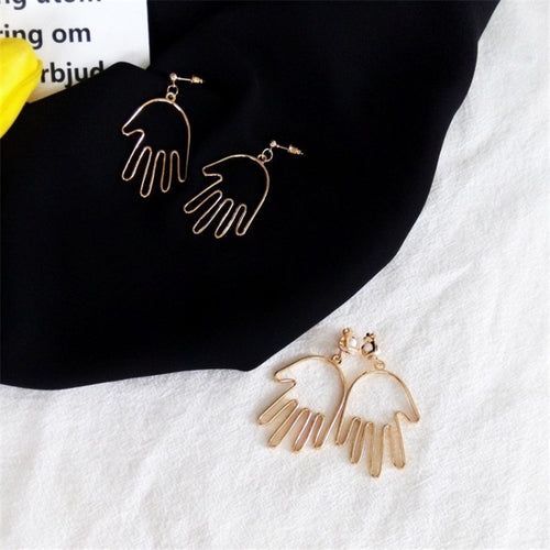 The Hand in Hand Earrings  Earrings    - Super Cool Supply Store