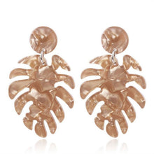 Load image into Gallery viewer, The Full Palm Earrings Sand Earrings Sand   - Super Cool Supply Store