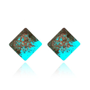 The Evermore Hyper Colour Earrings Sky Blue Earrings Sky Blue   - Super Cool Supply Store