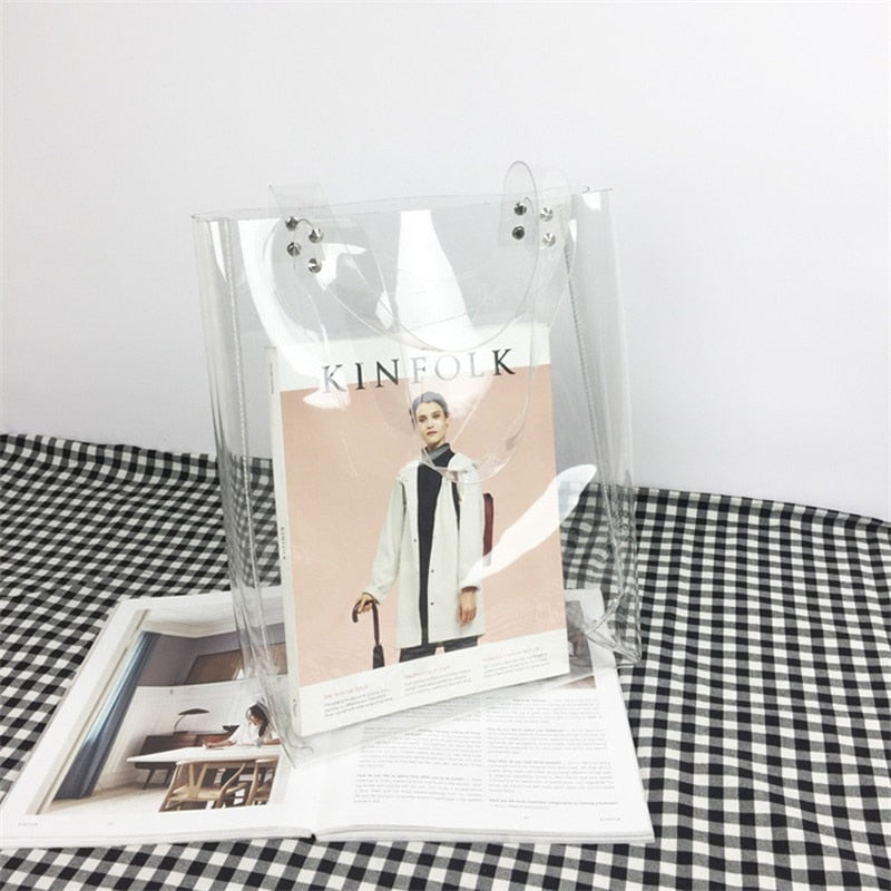 The Full Disclosure Square Tote  Bags    - Super Cool Supply Store