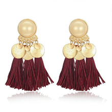 The Barrada Earrings Red Earrings Red   - Super Cool Supply Store