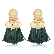 The Barrada Earrings Green Earrings Green   - Super Cool Supply Store
