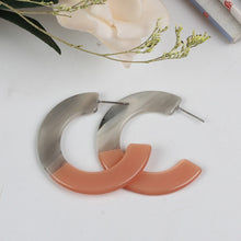 The Cee Cee Earrings Pink / Grey Earrings Pink / Grey   - Super Cool Supply Store