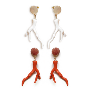 The Coral Branch Earrings
