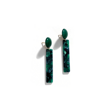 Load image into Gallery viewer, Dot Line Earrings