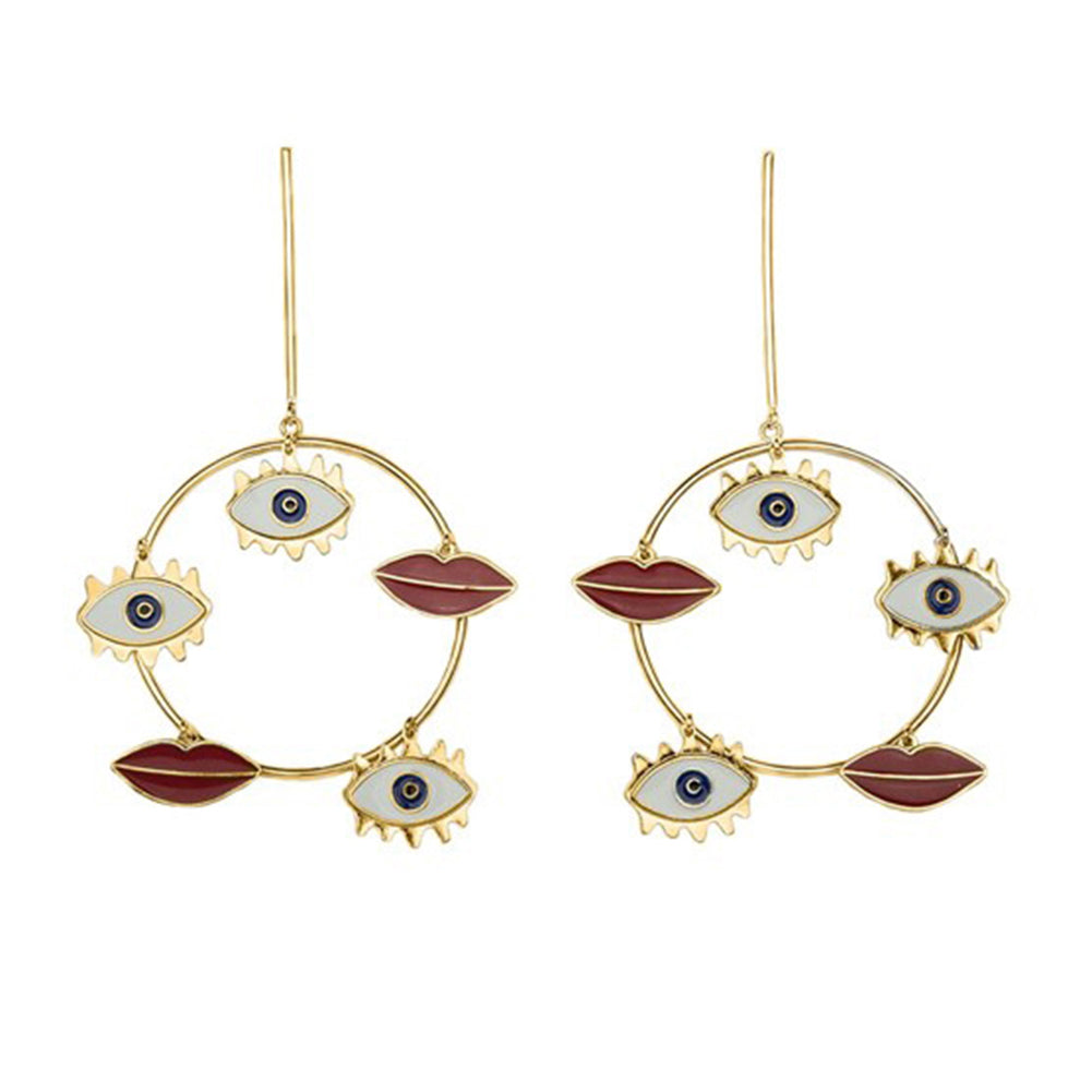 The All Seeing Earrings