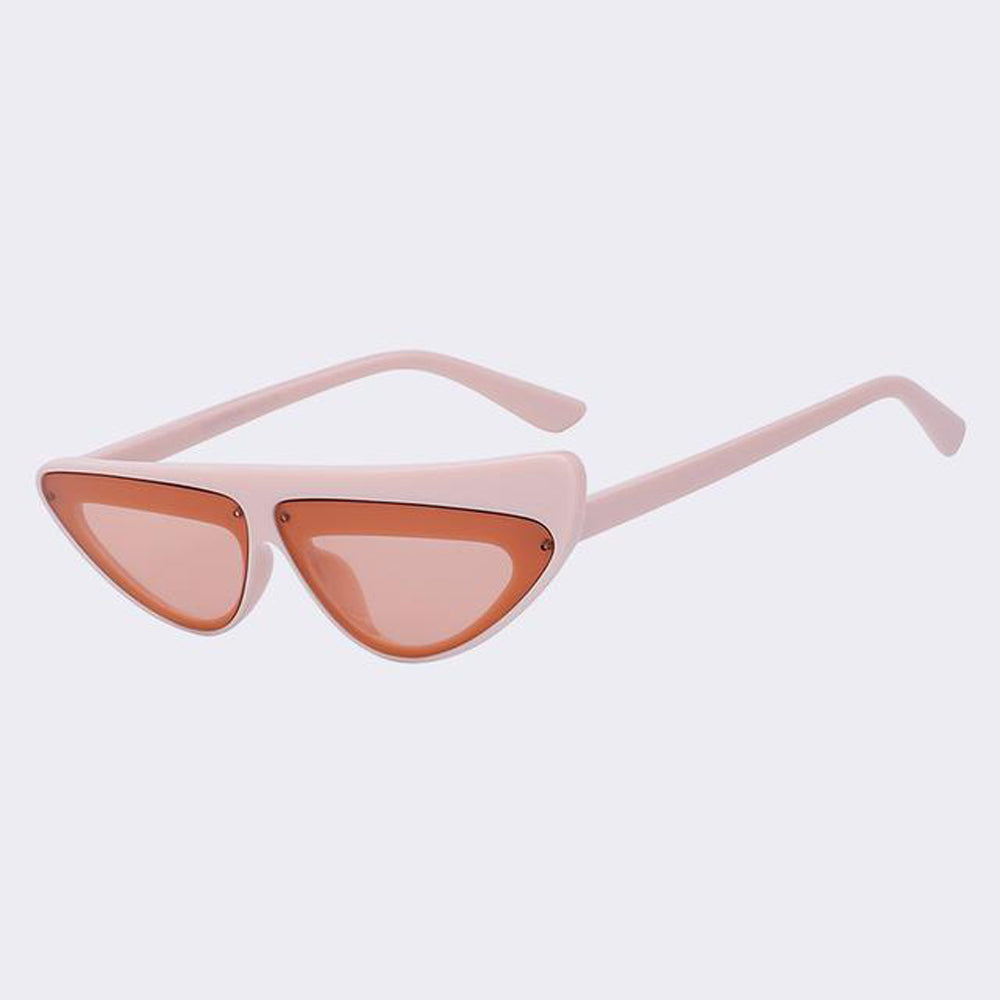 The Side Eye Sunglasses Pink Sunglasses Pink   - Super Cool Supply Store