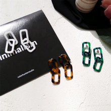 Load image into Gallery viewer, Double Chain Earrings  Earrings    - Super Cool Supply Store