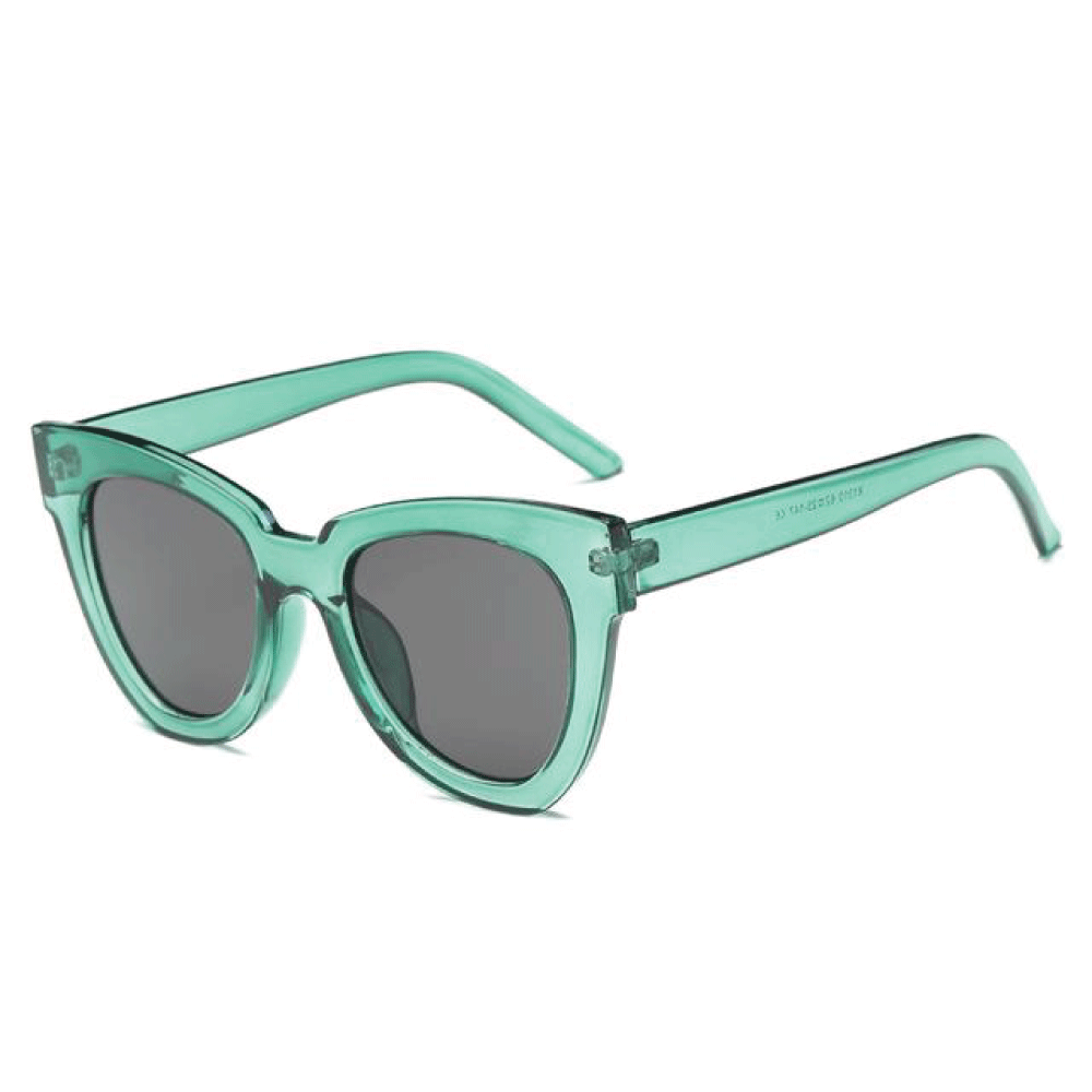The De Sol Sunglasses Green Grey Sunglasses Green Grey   - Super Cool Supply Store