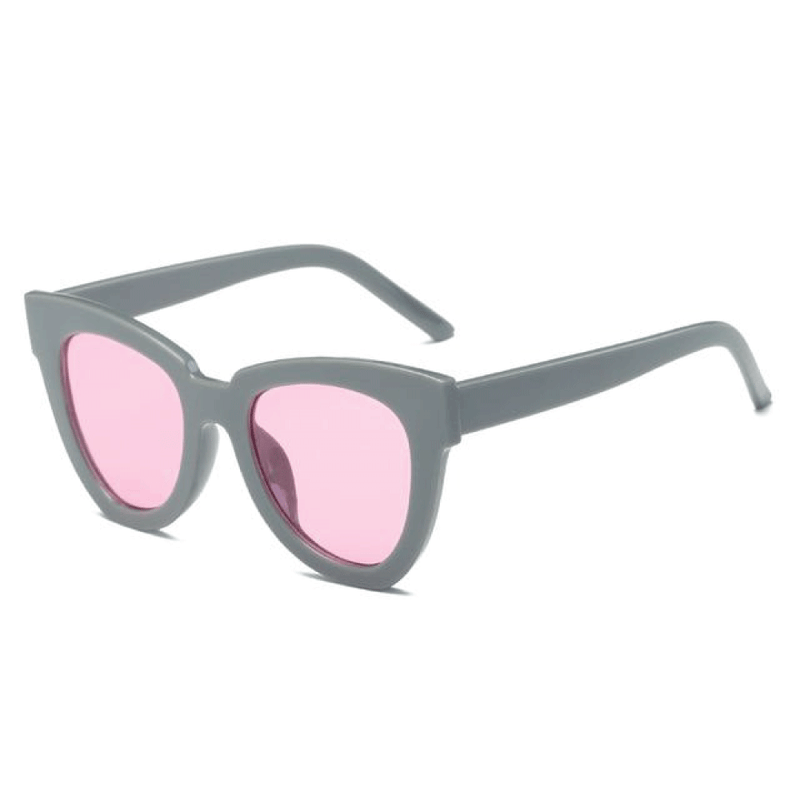 The De Sol Sunglasses Grey Pink Sunglasses Grey Pink   - Super Cool Supply Store