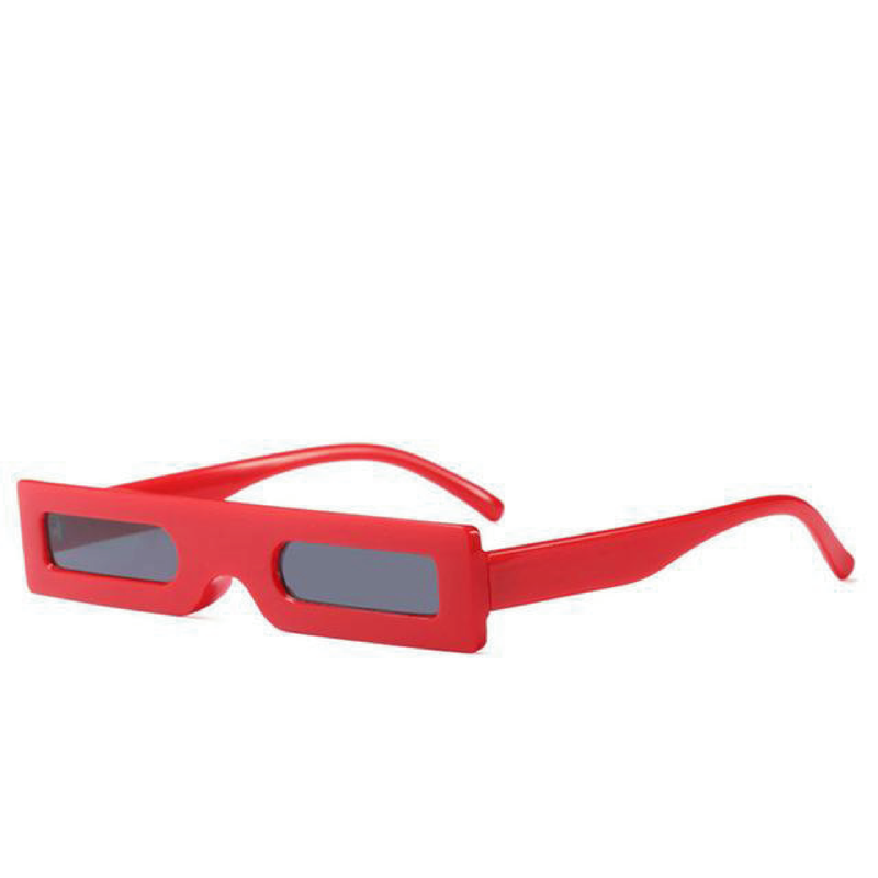 The Hesse Sunglasses Red  Red   - Super Cool Supply Store