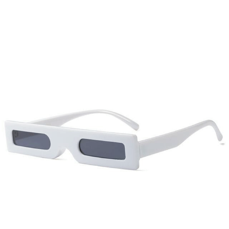 The Hesse Sunglasses White  White   - Super Cool Supply Store