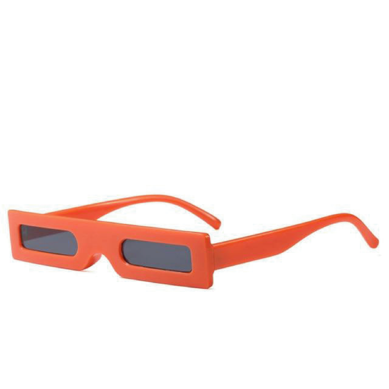 The Hesse Sunglasses Orange  Orange   - Super Cool Supply Store