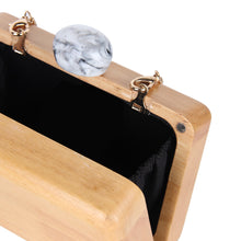 Load image into Gallery viewer, The Delaunay Wooden Clutch  Bags    - Super Cool Supply Store