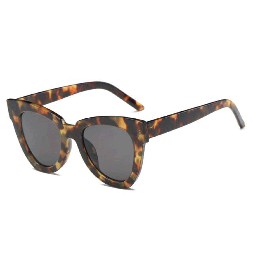 The De Sol Sunglasses Amber Grey Sunglasses Amber Grey   - Super Cool Supply Store