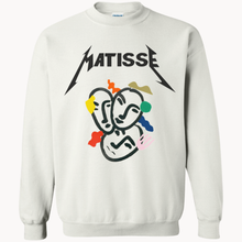 Matisse Boyfriend Sweatshirt White Small Sweatshirts Small   - Super Cool Supply Store