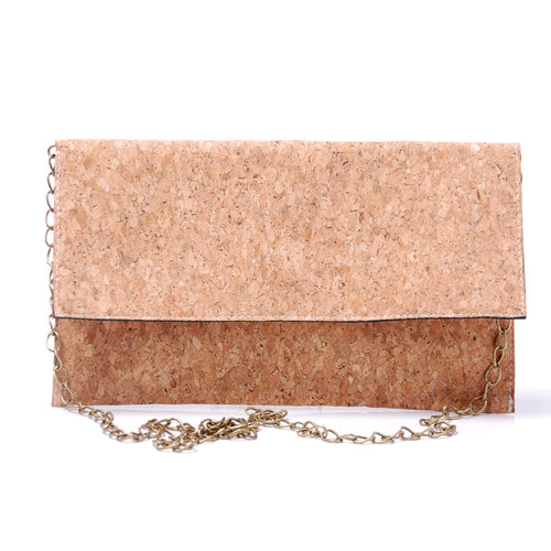 The Accordi Cork Clutch  Bags    - Super Cool Supply Store