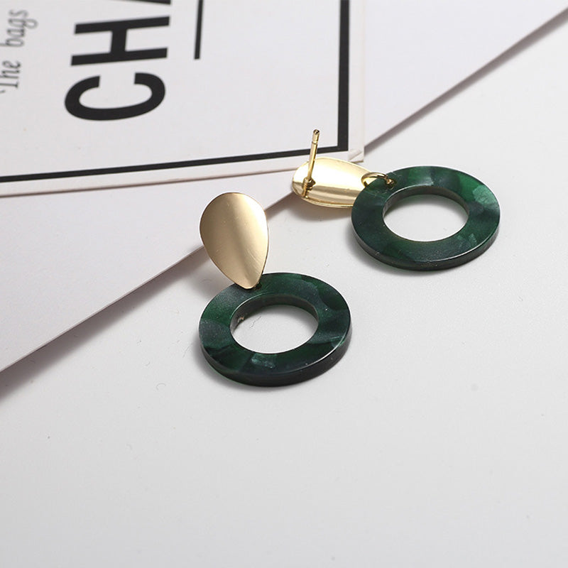 The Robyn Earrings Green Earrings Green   - Super Cool Supply Store