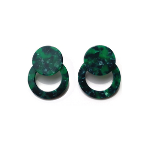The Oliver Green Earrings