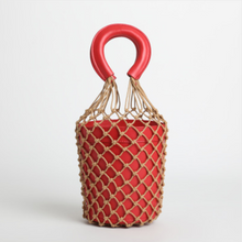 The Mehretu Bucket Bag Red Bags Red   - Super Cool Supply Store
