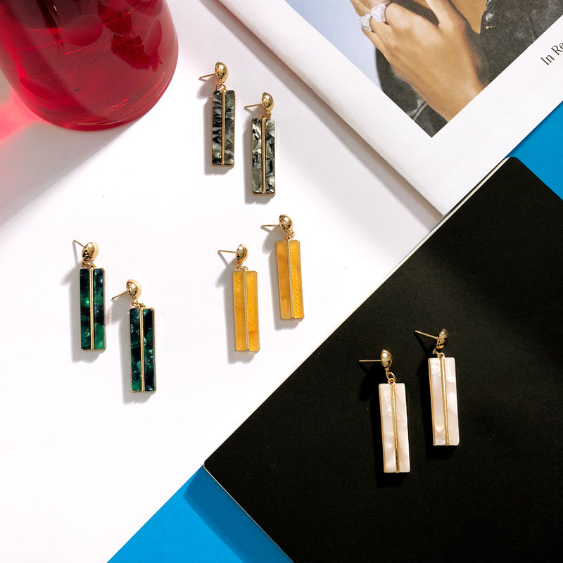 The Single Bar Earrings  Earrings    - Super Cool Supply Store