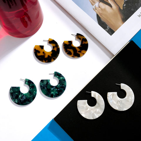 Sorta Circle Earrings