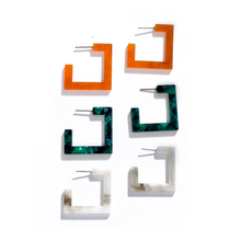 Load image into Gallery viewer, Sorta Square Earrings