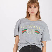 Load image into Gallery viewer, Gnocchi Grey Marle Tee  T-Shirts    - Super Cool Supply Store