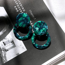 Load image into Gallery viewer, The Oliver Green Earrings