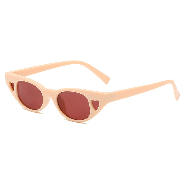 The Love Love Sunglasses Soft Orange Sunglasses Soft Orange   - Super Cool Supply Store