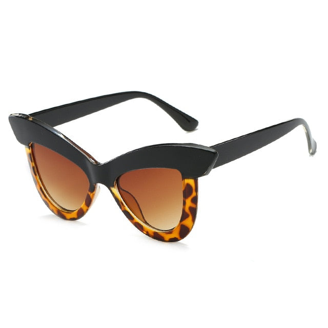 The Epica Singlasses Yellow Leopard Sunglasses Yellow Leopard   - Super Cool Supply Store