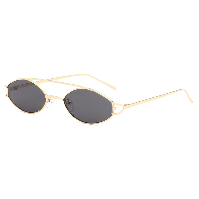 The Beam Sunglasses Gold Frame Black Lens Sunglasses Gold Frame Black Lens   - Super Cool Supply Store