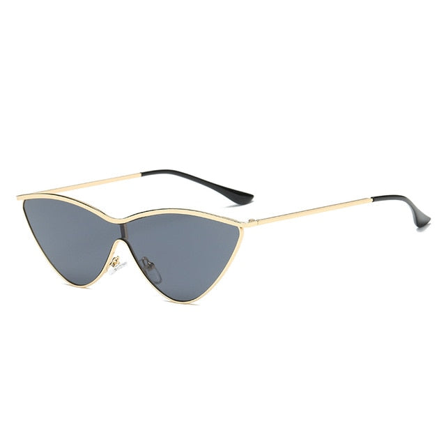 The Vitti Sunglasses Gold Frame Black Lens Sunglasses Gold Frame Black Lens   - Super Cool Supply Store