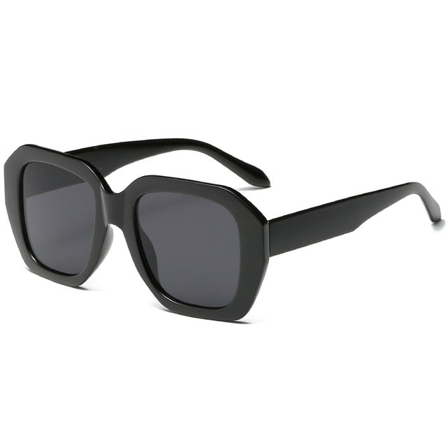 The Barney Sunglasses Black Frame Black Lens Sunglasses Black Frame Black Lens   - Super Cool Supply Store