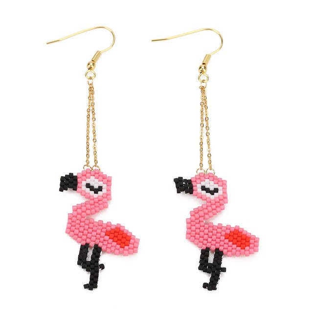 The Flamingo Earrings Flamingo Earrings Flamingo   - Super Cool Supply Store