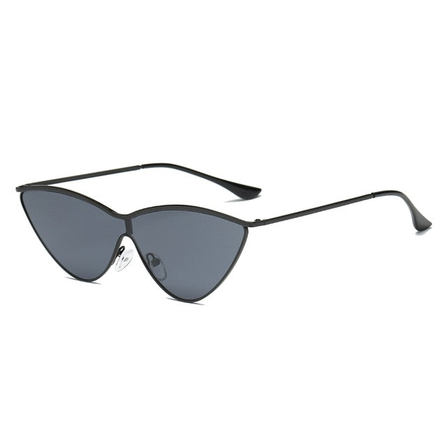 The Vitti Sunglasses Black Frame Black Lens Sunglasses Black Frame Black Lens   - Super Cool Supply Store