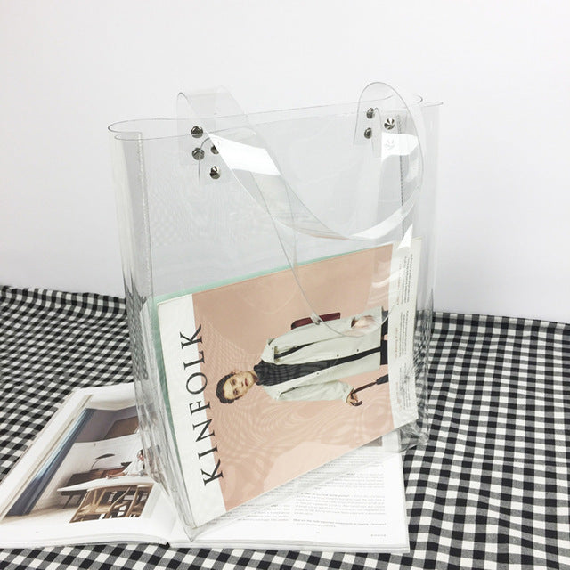 The Full Disclosure Square Tote Square Tote Bags Square Tote   - Super Cool Supply Store
